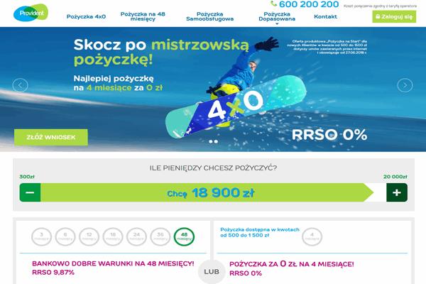 Provident Nowe Warpno  zadzwoń 600 111 551